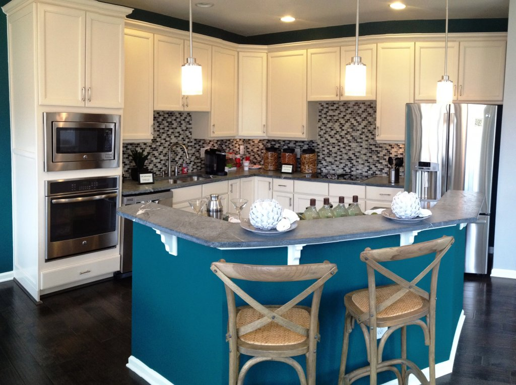 Pville Green Model Kitchen