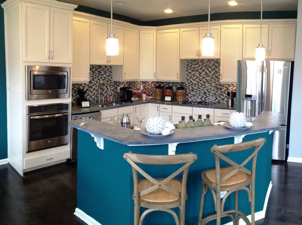 Pville Green Model Kitchen