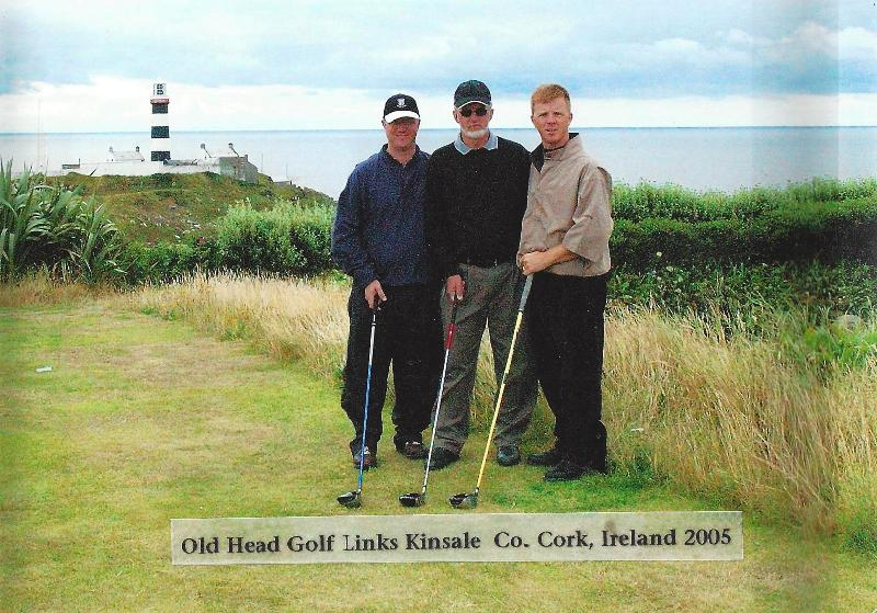 The Elias men play Old Head Golf Links
