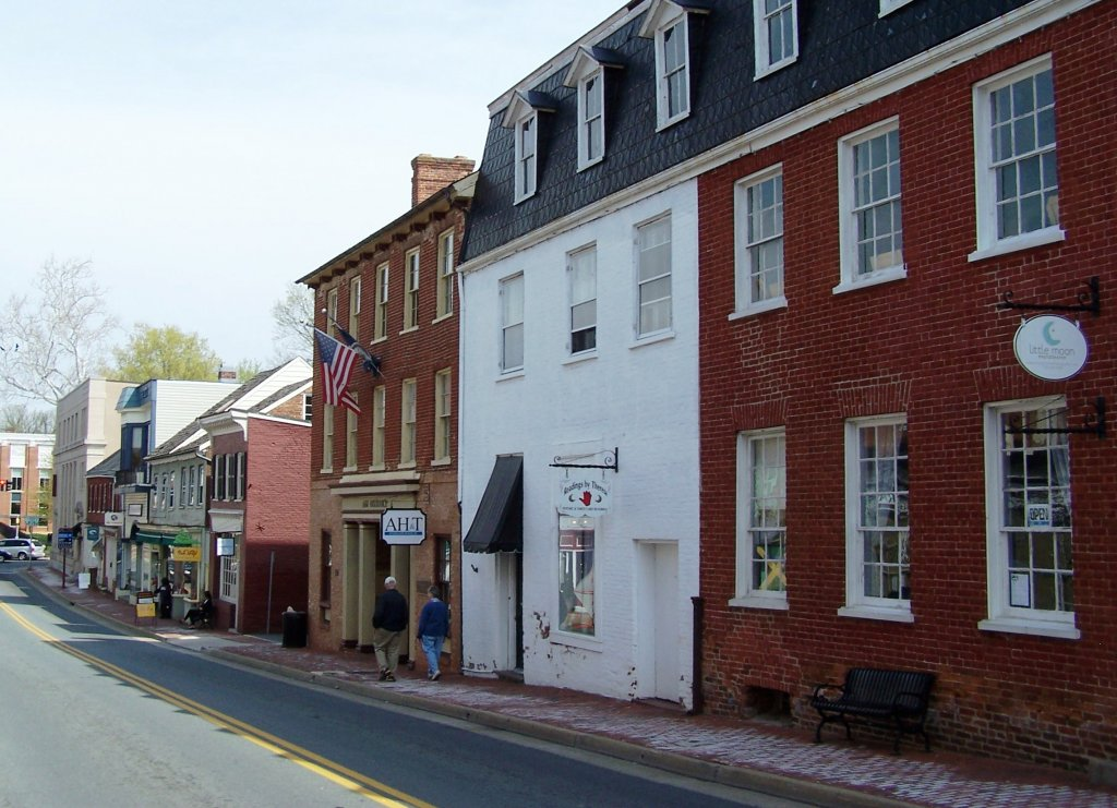 King Street in Leesburg