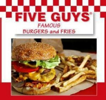 Five Guys Coming to Leesburg