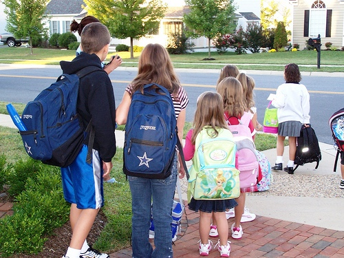 2008 First day of school