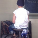 The Dunce Chair