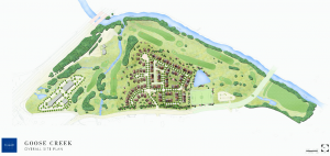 Goose Creek Golf Club Site Plan